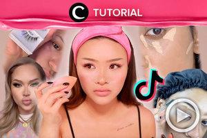Makeup hacks yang ada di TikTok benar-benar berpengaruh nggak, ya? Intip di: http://bit.ly/2Khv4wv. Video ini di-share kembali oleh Clozetter @dintjess. Lihat juga tutorial lainnya di Tutorial Section.