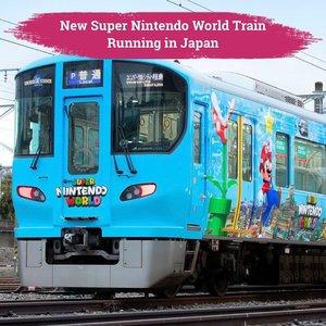 Lagi dan lagi, peresmian Super Nintendo World Theme Park di Universal Studios Japan kembali diundur karena COVID-19. Namun, dibalik itu semua pihak Universal Studios sudah menyiapkan kejutan lainnya, yaitu kereta bertemakan Super Nintendo World yang akan membawa para pengunjung dari Sakurajima menuju taman bermain di Osaka ini.  Walaupun pembukaan Super Nintendo World kembali diundur, namun kereta berwarna biru dengan animasi Mario, Luigi, dan kawan-kawannya ini sudah mulai beroperasi sejak tanggal 27 Januari lalu.  Tunjuk tangan yang ini mencoba menaiki kereta super menggemaskan ini!🙋🏻♀️  📷 @universal_studios_japan #ClozetteID #ClozetteIDCoolJapan #ClozetteXCoolJapan #SuperNintendoWorld #MarioBross #Japan #travel #tourism #SuperNintendoTrain