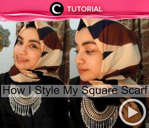 Apa jenis hijab yang kamu sukai? Jika masih kebingungan menata hijab square menjadi lebih stylish, yuk lihat tutorialnya berikut ini http://bit.ly/2dr9U8A. Video ini di-share kembali oleh Clozetter: aquagurl. Cek Tutorial Updates lainnya pada Tutorial Section.