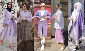 All The Ways To Incorporate Purple into Your Wardrobe - Hijab Fashion Inspiration