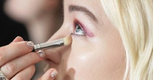 Using two shades of undereye concealer creates a more natural look, according to a professional makeup artist