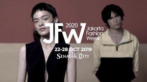 @JFWofficial kembali digelar untuk memanjakan para pecinta fashion. Lebih dari 70 show dari desainer nasional dan internasional siap jadi inspirasi mode tahun depan.Pekan mode terbesar di Asia Tenggara ini akan merayakan penyelenggaraannya yang kedua belas dari tanggal 22 sampai 28 Oktober 2019 di@senayancityJakarta.Kunjungi www.jakartafashionweek.co.id untuk informasi lengkap. Sampai jumpa di runway!-#ClozetteID #JFW2020 #JFWAccelerates#MerayakanIndonesia#JakartaFashionWeek#WeAreJFW