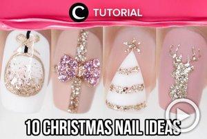 Last minute Christmas nails ideas! Check here: http://bit.ly/35Jq35d for more. Video ini di-share kembali oleh Clozetter @ranialda. Lihat juga tutorial lainnya di Tutorial Section.