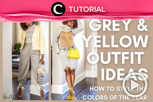 How to style 2021 Pantone colors: https://bit.ly/3sPpJfP. Video ini di-share kembali oleh Clozetter @aquagurl. Lihat juga tutorial lainnya di Tutorial Section.