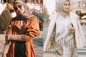 Inspirasi Fashion Hijab dengan Outer ala Mega Iskanti Agar Kamu Makin Modis Saat Liburan - Stylo.ID