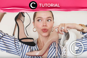 8 shoe essentials every woman should own: https://bit.ly/3jkWNHZ. Video ini di-share kembali oleh Clozetter @zahirazahra. Lihat juga tutorial lainnya di Tutorial Section.