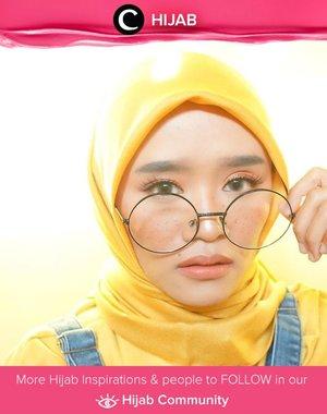 Who can say no to freckles makeup and Minion inspired outfit? Adorable! Simak inspirasi gaya Hijab dari para Clozetters hari ini di Hijab Community. Image shared by Clozetter @Suniims. Yuk, share juga gaya hijab andalan kamu