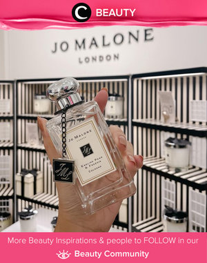 Say hello to everyone's favorite Jo Malone scent: English Pear and Freesia! Image shared by Clozette Ambassador @steviiewong. Simak Beauty Update ala clozetters lainnya hari ini di Beauty Community. Yuk, share produk favorit dan makeup look kamu bersama Clozette.
