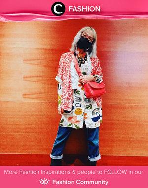 Wanna try this bold look ala Clozette Ambassador @titaztazty? Printed fashion items are the key! Simak Fashion Update ala clozetters lainnya hari ini di Fashion Community. Yuk, share outfit favorit kamu bersama Clozette.