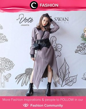 Clozette Ambassador @silviamuryadi shows her edgy look in Surin dress. Simak Fashion Update ala clozetters lainnya hari ini di Fashion Community. Yuk, share outfit favorit kamu bersama Clozette.