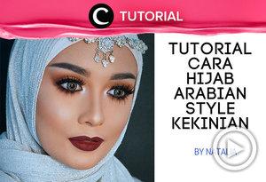 Contek gaya hijab ala arabian yang kekinian dalam video berikut ini http://bit.ly/2OPxSgU. Video ini di-share kembali oleh Clozetter: @kyriaa. Cek Tutorial Updates lainnya pada Tutorial Section.