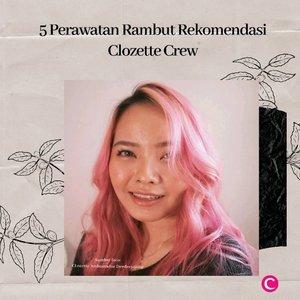 Your hair, your crown, your glory💇🏻♀️✨ katanya rambut adalah mahkota setiap perempuan. Jadi, bagaimanapun kondisi rambutnya; berwarna, virgin hair, atau rambut yang tertutup hijab sekalipun, perawatan tambun tetap yang terpenting. Berikut Clozette rangkum 5 perawatan rambut terbaik melalui video berikut, agar mahkotamu selalu sehat siap waktu!👑 #ClozetteID #ClozetteIDVideo.📷 @theouai @dimanjabumi @yvesrocher_id @sevencactus @lorealindonesia