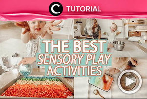 Sensory play activity ideas for your loved ones: http://bit.ly/3o97wIL. Video ini di-share kembali oleh Clozetter @juliahadi. Intip juga tutorial lainnya di Tutorial Section.