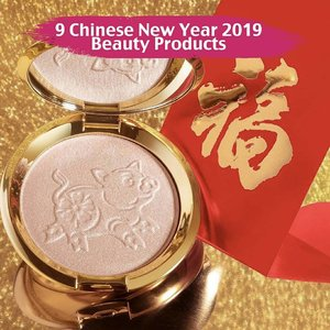 Merayakan lunar new year di tahun ini, 9 brand ini mengeluarkan koleksi khusus lunar new year yang super cantik!1. @beccacosmetics Pressed Highlighter in the Year Of The Pig2. @glamglow GRAVITYMUD Firming Treatment Limited-Edition3. @sephora Chinese New Year Collection 4. @guerlain KissKiss Lipstick in 3 shades, Rouge G Collector Case, Abeille Royale Lifting Oil, Eau De Cologne Imperiale5. @maccosmetics Ruby Woo, Russian Red, Lady Danger, New Lotus Light, New Lucky In Love Lipstick, Melba & Lovecloud Powder Blush Duo & Powder Blush Brush6. @hourglasscosmetics Limited Edition 2019 Lunar New Year #Ambient Lighting Blush in Vivid Flush7. @GivenchyBeauty Shimmering Loose Powders, @lancomeofficial Lipstick, @BenefitCosmetics Piggy Bank
