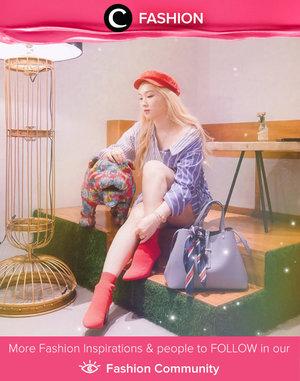 Clozetter @soyankim played with colors and we love it! Simak Fashion Update ala clozetters lainnya hari ini di Fashion Community. Yuk, share outfit favorit kamu bersama Clozette.