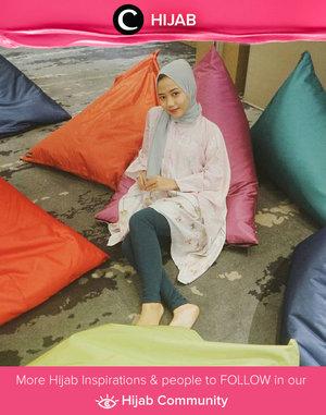 Butuh inspirasi pakaian nyaman untuk bukber? Gaya Clozetter @auliatrisakti dengan tunik berbahan ringan ini bisa kamu tiru, Clozetters. Simak inspirasi gaya Hijab dari para Clozetters hari ini di Hijab Community. Yuk, share juga gaya hijab andalan kamu.