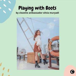 Selain heels, sepatu yang bisa bikin penampilan kamu lebih on point adalah sepatu boots. Fashion item yang awalnya hanya dikenakan oleh pria ini makin berkembang dan pada akhirnya dikenakan juga oleh wanita. Sepatu boots bisa kamu gunakan untuk acara formal atau pun non formal dan selalu pas untuk dipadupadankan dengan rok, celana jeans atau bahkan dress sekalipun. Yuk, intip style menggunakan sepatu boots ala Clozette Ambassador @silviamuryadi.  📷 @silviamuryadi #ClozetteID #ClozetteIDVideo