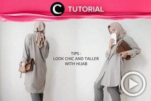 Hijabers yang ingin terlihat lebih tinggi dan tampil stylish, merapat yuk! Kamu bisa cek video yang di-share kembali oleh Clozetter @saniaalatas ini: http://bit.ly/39wBKPT. Lihat juga tutorial lainnya di Tutorial Section.