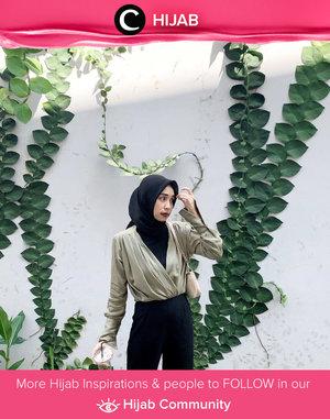 Clozette Crew @firadwip shared her signature neutral style with us. Simak inspirasi gaya Hijab dari para Clozetters hari ini di Hijab Community. Yuk, share juga gaya hijab andalan kamu.