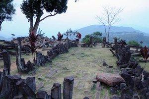Megahnya Borobudur di Gunung Padang