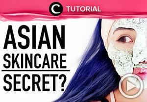 Ada banyak cara untuk menjaga kesehatan dan kecantikan kulit seperti para perempuan Asia. Yuk, cari tau selengkapnya, di sini http://bit.ly/2rYcCtk. Video ini di-share kembali oleh Clozetter: @zahirazahra. Cek Tutorial Updates lainnya pada Tutorial Section.