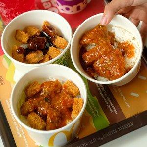 McDonald's Luncurkan Menu Rice Bowl Dengan Varian Baru