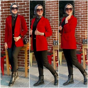 Ladies suits and formal blazers with hijab | | Just Trendy Girls