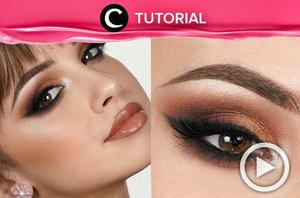 Tampilan makeup extra glam seperti ini cocok untuk menghadiri acara malam hari. Yuk, lihat tutorialnya di: http://bit.ly/2K3gN4G. Video ini di-share kembali oleh Clozetter @Salsawibowo> Lihat juga tutorial updates lainnya di Tutorial Section.