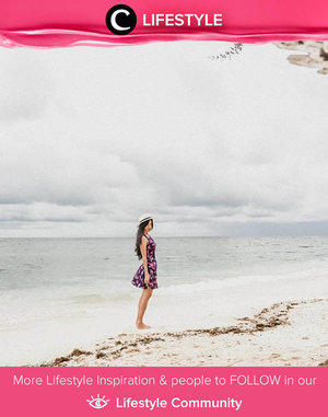 Throwback to a happy day on the beach, posted by Clozette Ambassador @leonisecret. Simak Lifestyle Update ala clozetters lainnya hari ini di Lifestyle Community. Yuk, share momen favoritmu bersama Clozette.