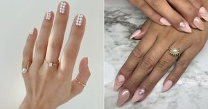15 Pearl Nail Art Ideas That You'll Want to Wear All Season Long
