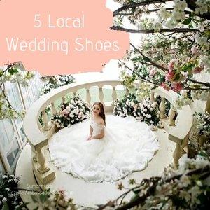5 local wedding shoes ini akan membantu membuat penampilanmu makin cantik di hari besarmu nanti! #ClozetteID #ClozetteIDVideo . 📷 @vaia.official @cavaprive @scarpa_shoes_id @unificatio.official @naima_shoes
