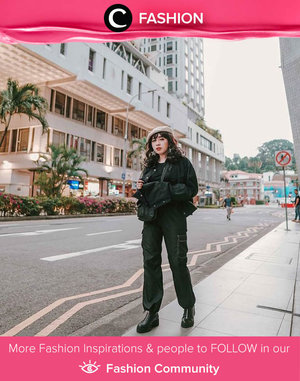 Clozetter @yunitaelisabeth91 shows her edgy side in all black outfit. Simak Fashion Update ala clozetters lainnya hari ini di Fashion Community. Yuk, share outfit favorit kamu bersama Clozette.