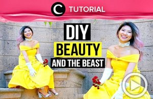 Another idea for your Halloween costume; Belle from Beauty and the Beast: http://bit.ly/2PAeZiE Video ini di-share kembali oleh Clozetter: @Salsawibowo. Cek Tutorial Updates lainnya pada Tutorial Section.