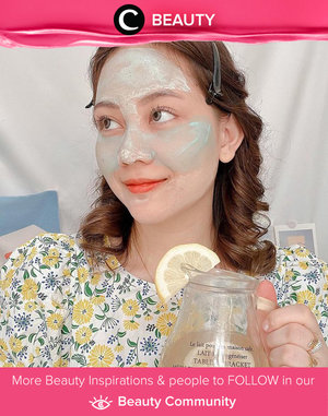 Multi-masking on day off, anyone? Kamu bisa mencoba masker dari Maska Lab untuk permasalahan kulit yang berbeda. Menarik, ya? Image shared by Clozette Ambassador @windana. Simak Beauty Update ala clozetters lainnya hari ini di Beauty Community. Yuk, share produk favorit dan makeup look kamu bersama Clozette.