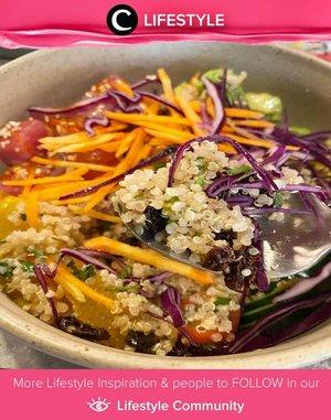 Super healthy breakfast a la Clozetter @clevergirl: Poke bowl! Simak Lifestyle Update ala clozetters lainnya hari ini di Lifestyle Community. Yuk, share momen favoritmu bersama Clozette.