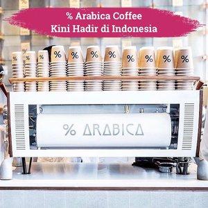 Kabar gembira untuk kamu penikmat kopi: % Arabica Coffee kini hadir di Indonesia!✨Nggak main-main, kedai kopi asal Jepang ini akan membuka 4 kedainya di Jawa dan Bali. Kedai pertama yang akan dibuka berlokasi di District 8 dan Central Park Jakarta, disusul oleh pembukaan kedainya di Bali, yaitu di Seminyak Village dan Ubud.Siapa nih yang tiap berlibur ke Jepang atau Singapura pasti harus banget jajan kopi di % Arabica? Kini nggak perlu jauh-jauh ke negara tetangga karena kedai kopi ini akan buka dalam waktu dekat ini!☕️📷 @arabica.indonesia#ClozetteID #ArabicaIndonesia