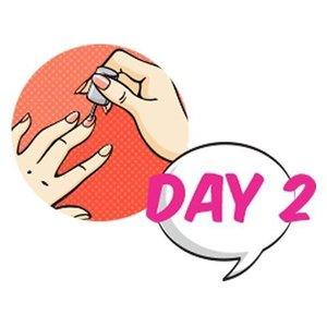 "Win nail care product dari Orlymiin senilai Rp 300.000 dengan ikutan: TWOnderful Photo Challenge day 2: Nail Art ""BECAUSE MY NAILS ALSO NEED TO BE PAMPERED"" Share foto nail art kamu beserta quotes seputar beauty, lalu tantang 2 temanmu untuk lihat kuku cantik mereka. Hashtag: #ClozetteID #TWOnderfulJourney#ClozetteXOrlymiin PRIZE: Produk Orlymiin senilai Rp 300.000! Yuk ikutan sekarang di: http://bit.ly/2anniv-ig"