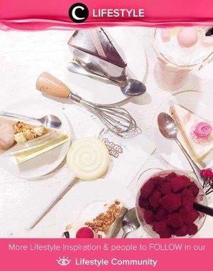 Desserts are fairy tales of the kitchen. Simak Lifestyle Updates ala clozetters lainnya hari ini di Lifestyle Community. Image shared by Clozetter @rimasuwarjono. Yuk, share juga momen favoritmu.