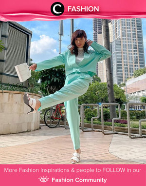 This lovely mint and white color pairing left us in awe! Image shared by Clozette Ambassador @steviiewong. Simak Fashion Update ala clozetters lainnya hari ini di Fashion Community. Yuk, share outfit favorit kamu bersama Clozette.