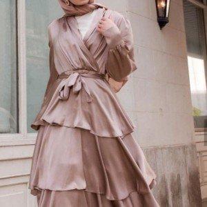 4 Jenis Silk Dress untuk Hijabers