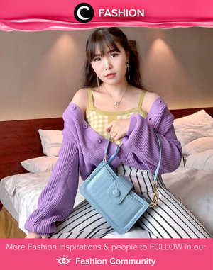 Another knitted outfit ideas to make your weekend more colorful. Image shared by Clozetter @chelsheaflo. Simak Fashion Update ala clozetters lainnya hari ini di Fashion Community. Yuk, share outfit favorit kamu bersama Clozette.