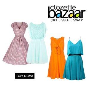 Warna pastel atau warna terang untuk dress? Beli di #ClozetteBazaar! --> bit.ly/bazaardress  #ClozetteID #shopping #onlineshop #onlineshopjkt #bazaarjkt #jktsale #fashion
