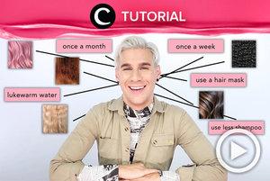 Yakin cara mencuci rambutmu sudah benar? Coba intip infonya di: https://bit.ly/2SCdAeU. Video ini di-share kembali oleh Clozetter @juliahadi. Lihat juga tutorial lainnya yang ada di Tutorial Section.