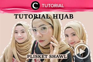 Pasti kamu sudah familiar dengan hijab plisket kan? Jika masih bingung cara styling-nya, coba cek di: http://bit.ly/37z5lrF. Video ini di-share kembali oleh Clozetter @saniaalatas. Lihat juga tutorial lainnya di Tutorial Section.