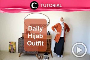Untuk kamu yang mengenakan hijab, style pada video berikut bisa kamu tiru, Clozetters: http://bit.ly/2lC9NAY. Video ini di-share kembali oleh Clozetter @kyriaa. Intip juga tutorial lainnya di Tutorial Section.