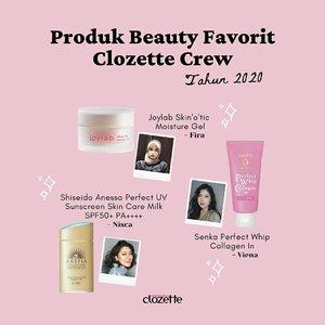 Apa produk holy grail kamu tahun 2020, Clozetters? Share di kolom komentar juga, ya!.@joylabbeauty @senkaindonesia @anessaindonesia @hdione.idn @wardahbeauty @moistdianeid @breyleeid @blpbeauty @cosrx_indonesia#ClozetteID #ClozetteXCoolJapan #ClozetteIDCoolJapan