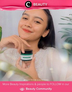 Miracle in a jar versi Clozette Ambassador @sucifitriaapriani: Some By Mi AHA-BHA-PHA 30 Cream. Mengandung Cica yang memberi efek calming pada kulit, krim dengan formula ringan ini menghadirkan cooling sensation untuk kulit yang lebih lembut, lembap, dan glowing. Untuk hasil yang lebih maksimal, kamu bisa menggunakan tonernya juga, Clozetters! Simak Beauty Update ala clozetters lainnya hari ini di Beauty Community. Yuk, share produk favorit dan makeup look kamu bersama Clozette.