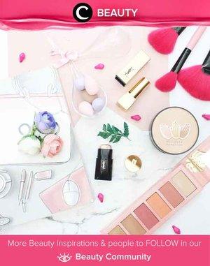 Koleksi makeup berwarna pastel dari Clozetter @rimasuwarjono. Simak Beauty Update ala clozetters lainnya hari ini di Beauty Community. Yuk, share juga beauty product favoritmu bersama Clozette.