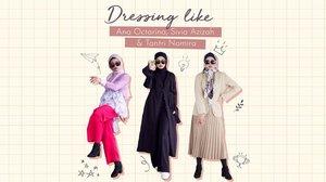 Siapa yang nggak kenal dengan 3 content creator asal Indonesia yang punya gaya fashion unik ini: @anaoctarina , @siviazizah , dan @tantrinamirah. Walaupun sama-sama dikenal sebagai fashion influencer, tetapi ketiganya punya style yang cukup berbeda, nih. Di video kali ini, @astrityas akan coba recreate ketiga style tersebut. Cek lengkapnya di Youtube Channel Clozette Indonesia, yuk! http://bit.ly/RecreateInfluencerStyle (link di bio).#ClozetteID #CIDYoutube #HijabFashion #Hijab #Fashion #AnaOctarina #SiviaAzizah #TantriNamirah
