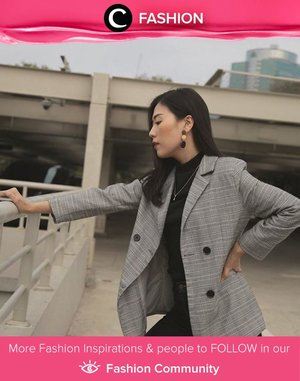 Clozette Ambassador @janejaneveroo is back with her business chic style! Who's inspired? Simak Fashion Update ala clozetters lainnya hari ini di Fashion Community. Yuk, share outfit favorit kamu bersama Clozette.